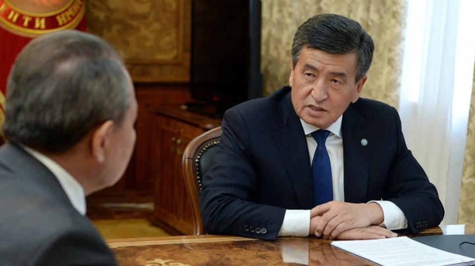 Культурный и научный потенциал нашей страны достиг определенных успехов в условиях, когда он опирался на кириллицу, сказал Жээнбеков.