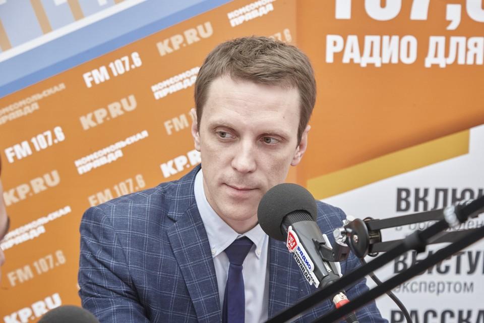 """Зам.директора ООО """"Новосвет"""" Антон Ефимов"""