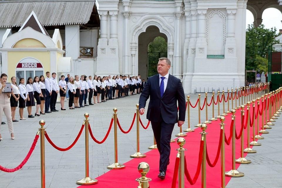 Теперь все ждут от Бабушкина фамилии тех, кто вместе с ним будет руководить областью. Фото: администрация Волгоградской области