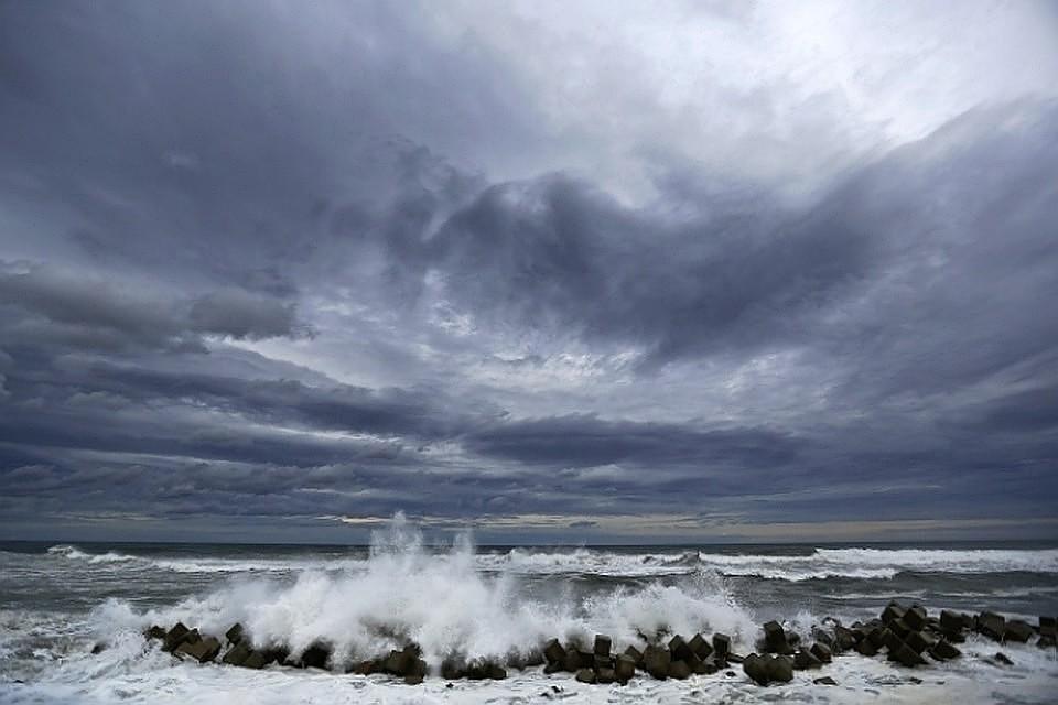 На юге страны сильные дожди и ветер