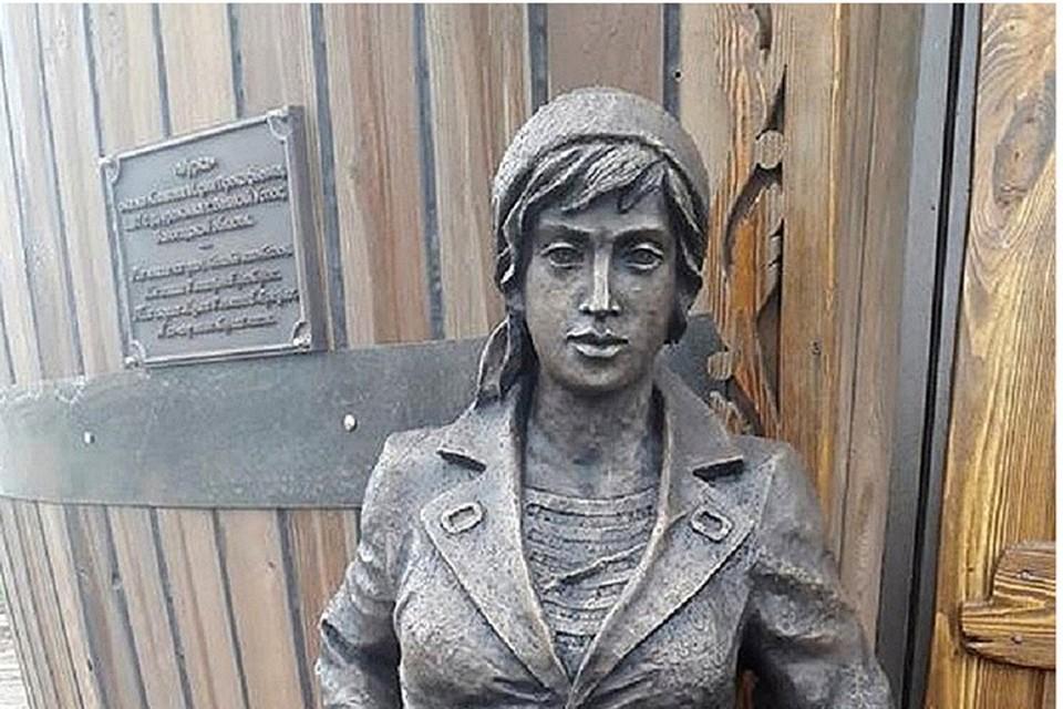 Марии Климовой поставили памятник в Великом Устюге Фото: facebook.com/viktor.chuchin