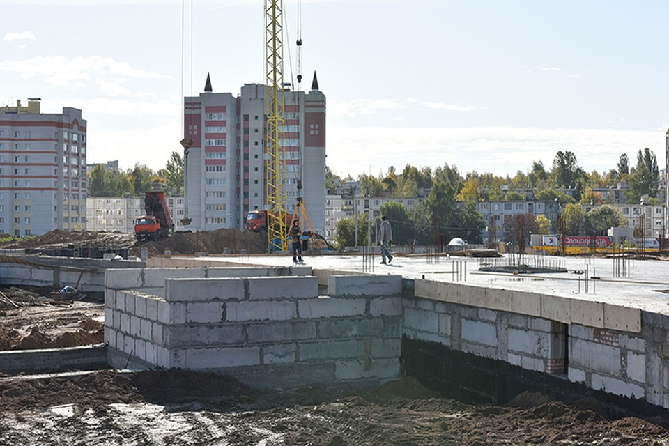 Дворец единоборств в Брянске начали строить три месяца назад.