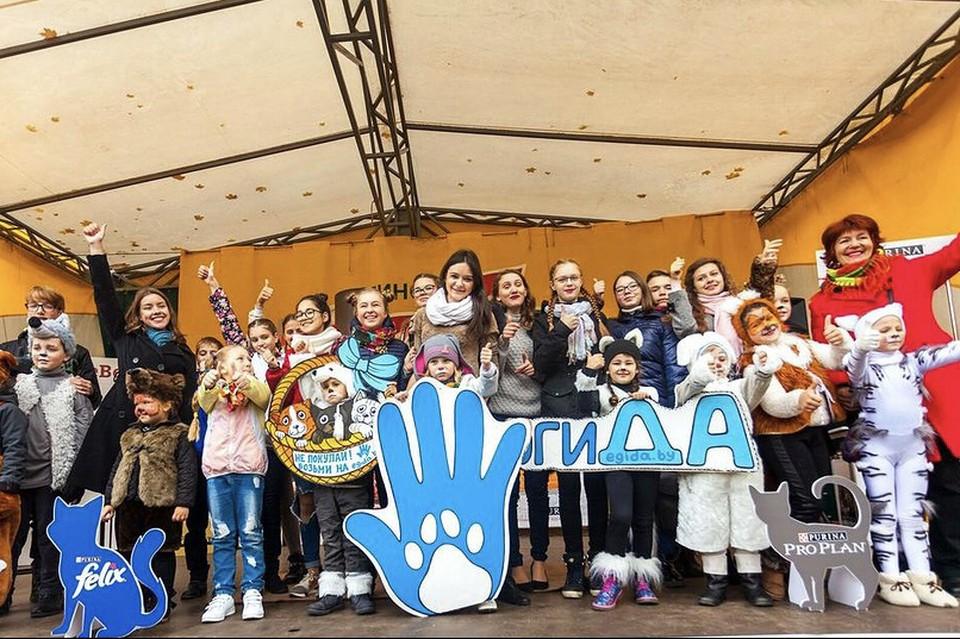 С 2007 года ООЗЖ «Эгида» начала в Беларуси проводить благотворительные акции.