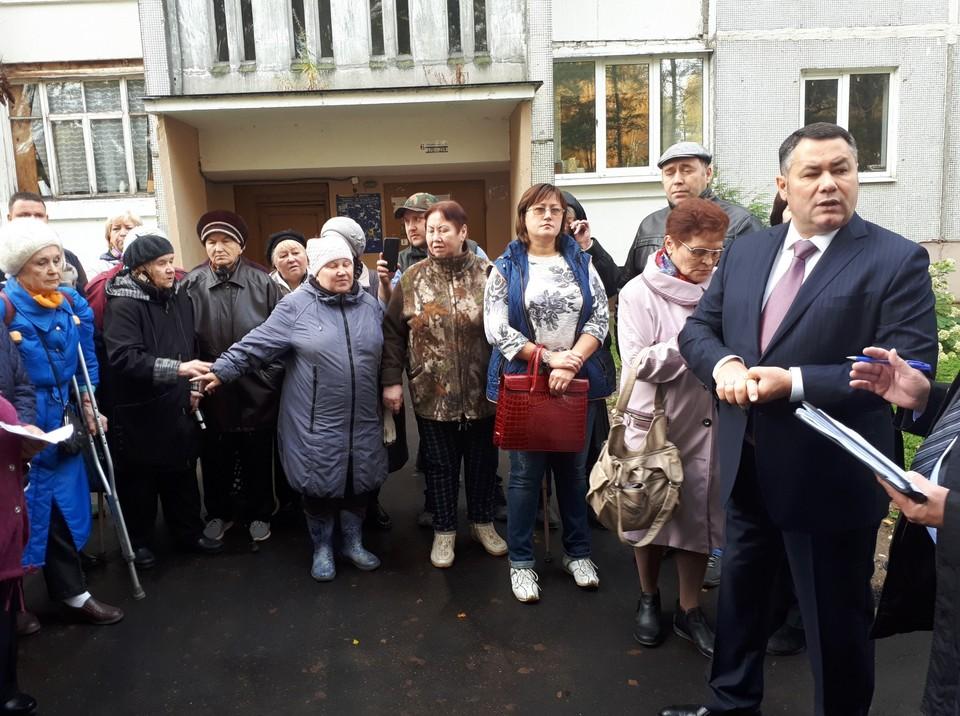 """Жители """"Южного"""" пожаловались губернатору на холодные батареи Фото: ТИА"""