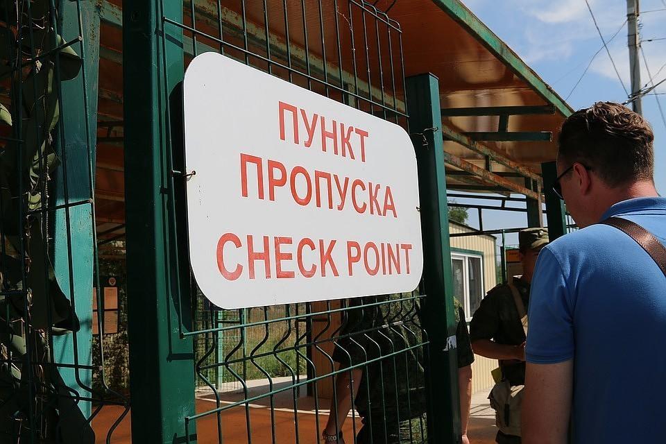 ЧП произошло на польском пункте пропуска через границу