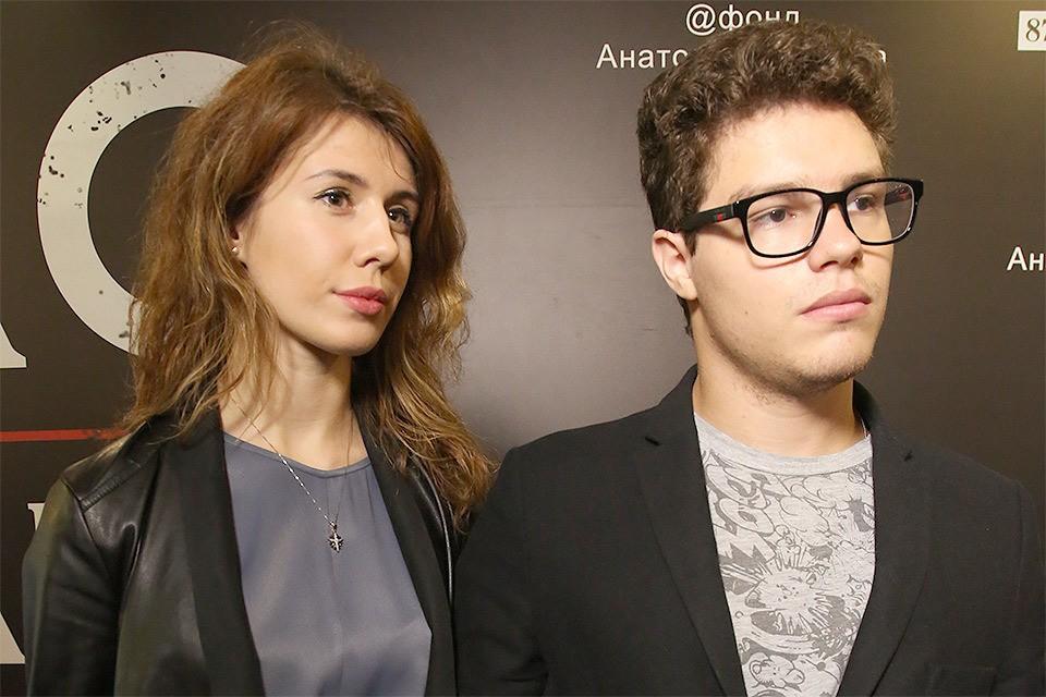 Антон Немцов с женой Анной.