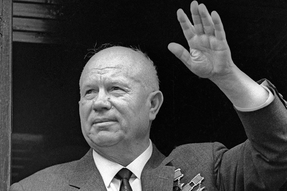 Никита Хрущев в августе 1964 года.