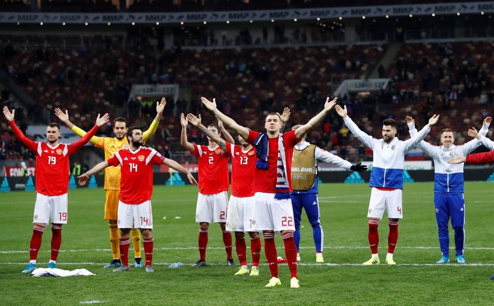 Россия сыграет против Кипра.