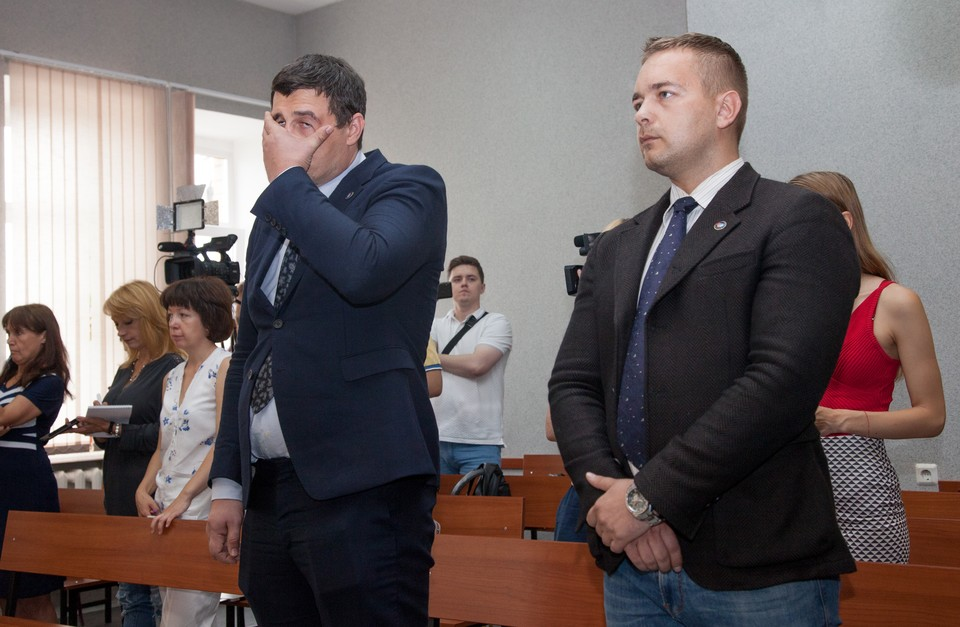 Суд над Телепневым и Ванкевичем