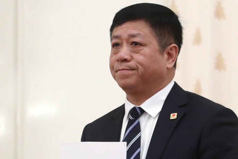 Чрезвычайный и Полномочный Посол КНР в РФ Чжан Ханьхуэй. Фото Сергей Бобылев/ТАСС