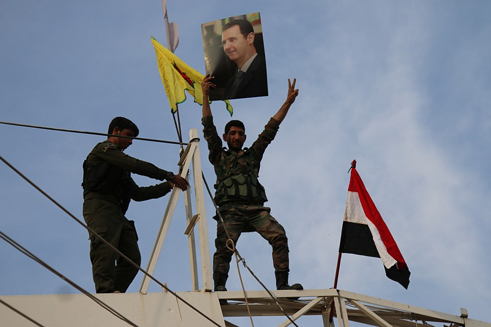 Контроль над северо-восточной границей Дамаск потерял около шести лет назад