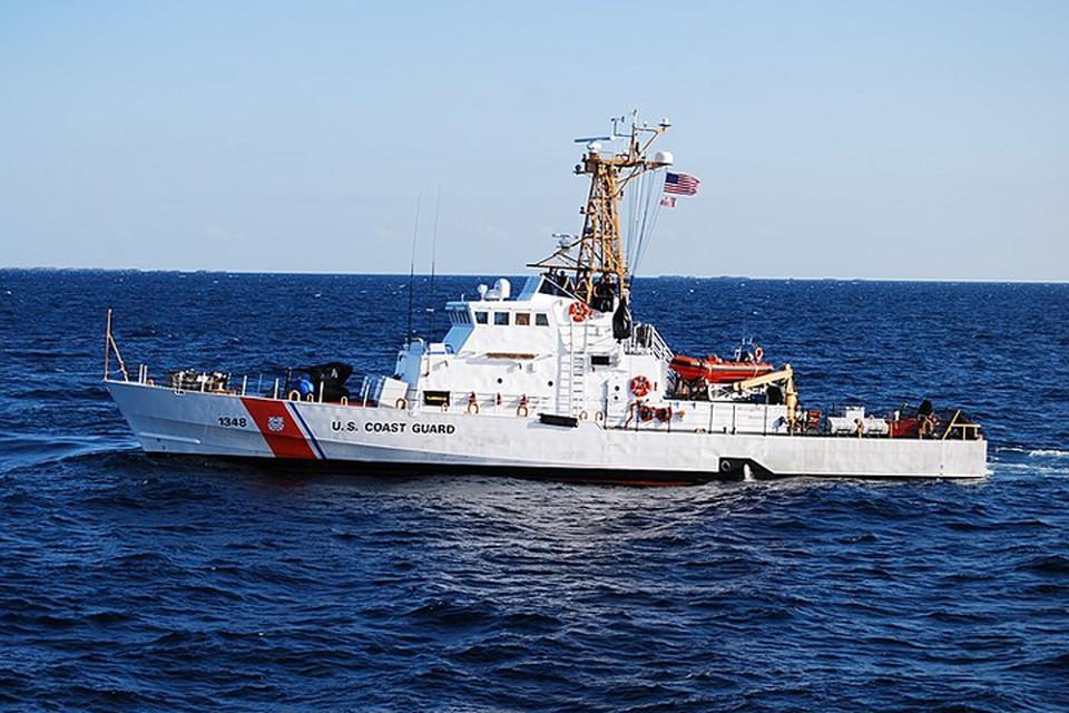 """Патрульный катер класса """"Айленд"""" Береговой охраны США"""