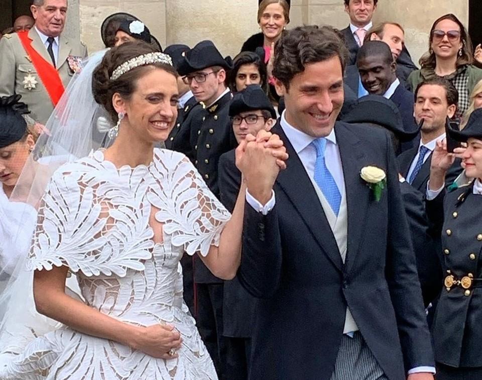Свадьба прошла в Париже