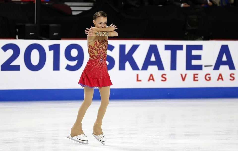 Анна Щербакова свела всех с ума своими четверными прыжками