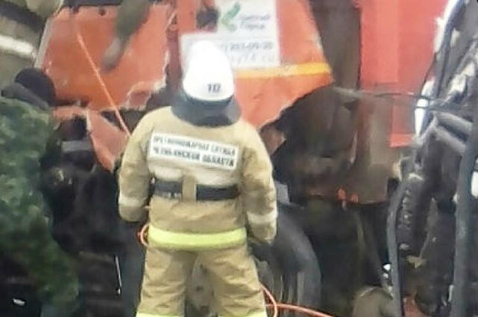 Фото с места аварии. vk.com/achnov