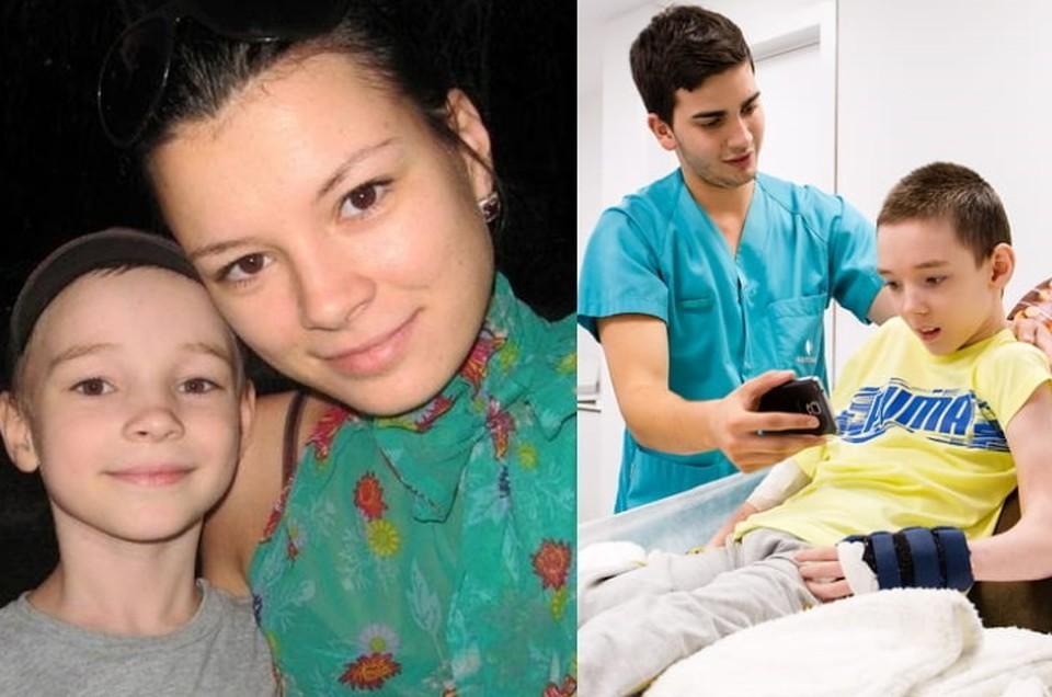 3,5 года женщина пытается исправить ошибку врачей, тратя баснословные деньги на реабилитацию. Фото: личный архив Елены Пыдык.