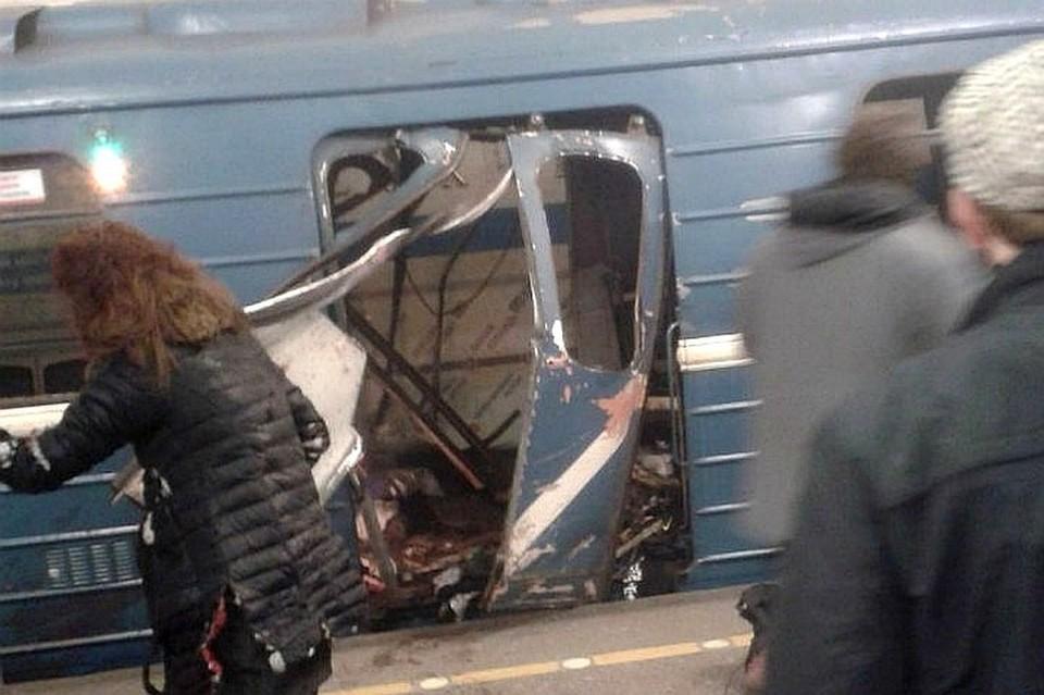 Теракт в метро Петербурга мог стать не единственным Фото: ДТП и ЧП Петербурга
