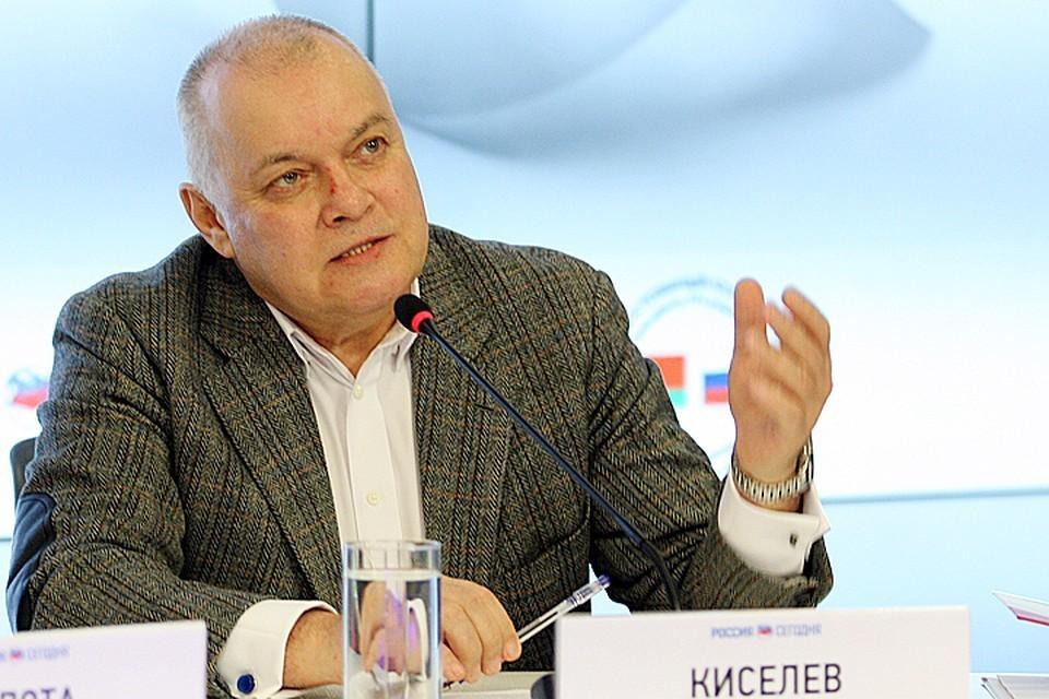 Телеведущий Дмитрия Киселев