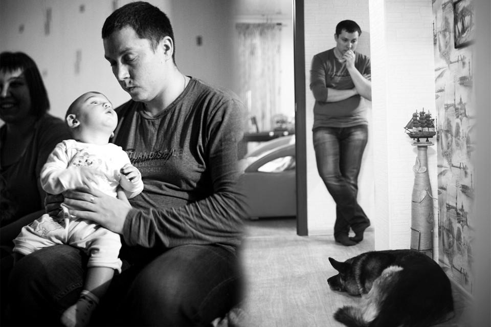 Артему 29 лет, у него жена и маленький ребенок. Фото: Елена Ерастова