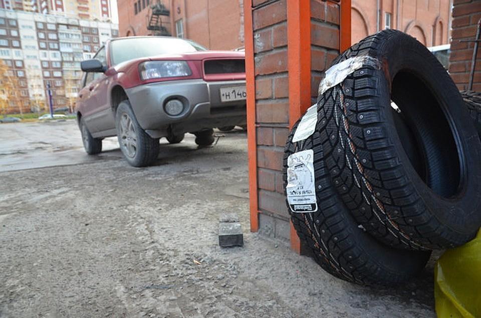 Какие зимние шины уместней в столице Черноземья.