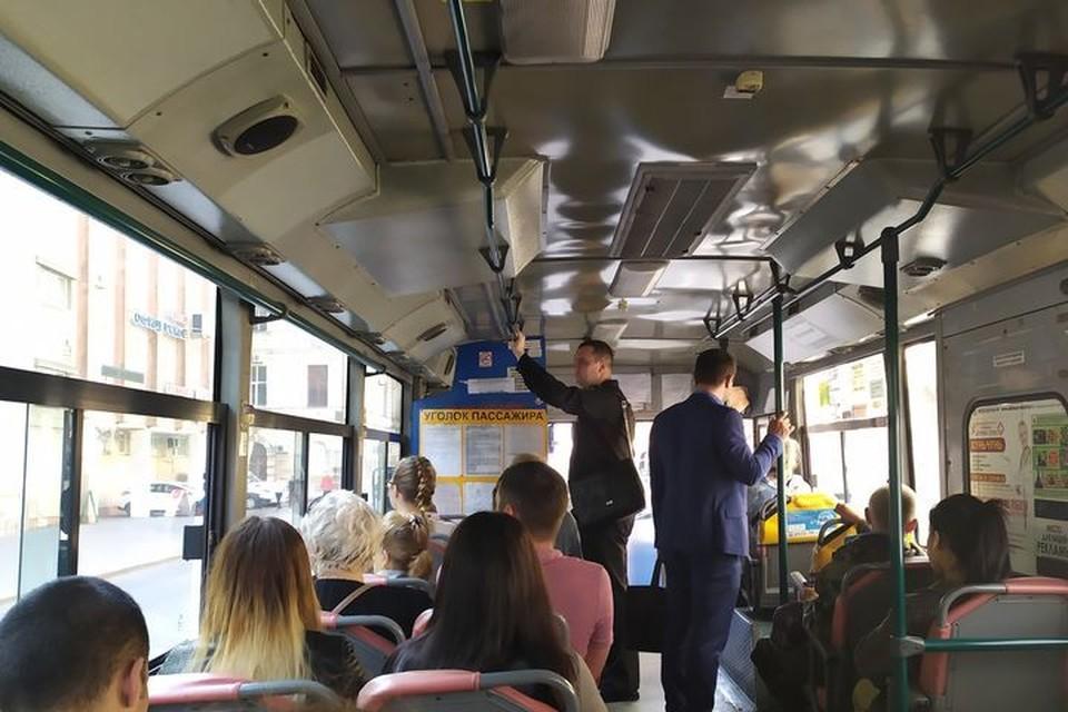 Очередной конфликт разыгрался в приморском автобусе