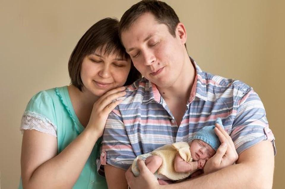 Артем со своей семьей. Фото героя публикации