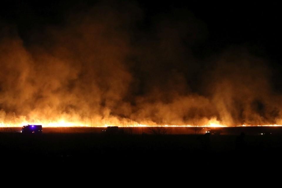 В Хакасии ночью два не сгорело село. Фото: ГУ МЧС России по Республике Хакасия