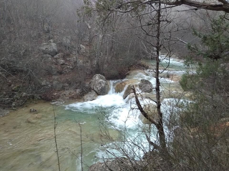 Крымские реки полноводны только зимой