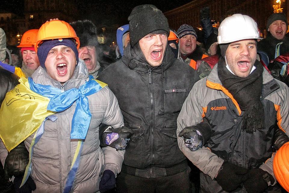 Студентов Киево-Могилянской академии использовали и для начала «Оранжевой революции» 2004 года и в Евромайдан 2014-го. Фото: Архив КП
