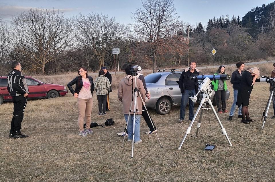 В Крыму много любителей астрономии. Фото: Сергей Назаров