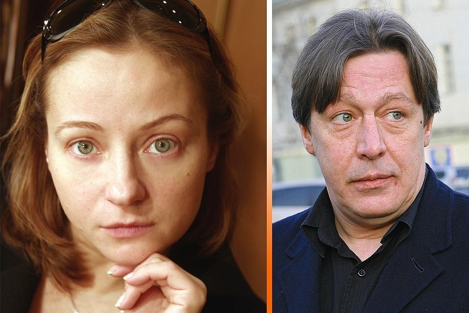У Михаила Ефремова и Евгении Добровольской родилась внучка
