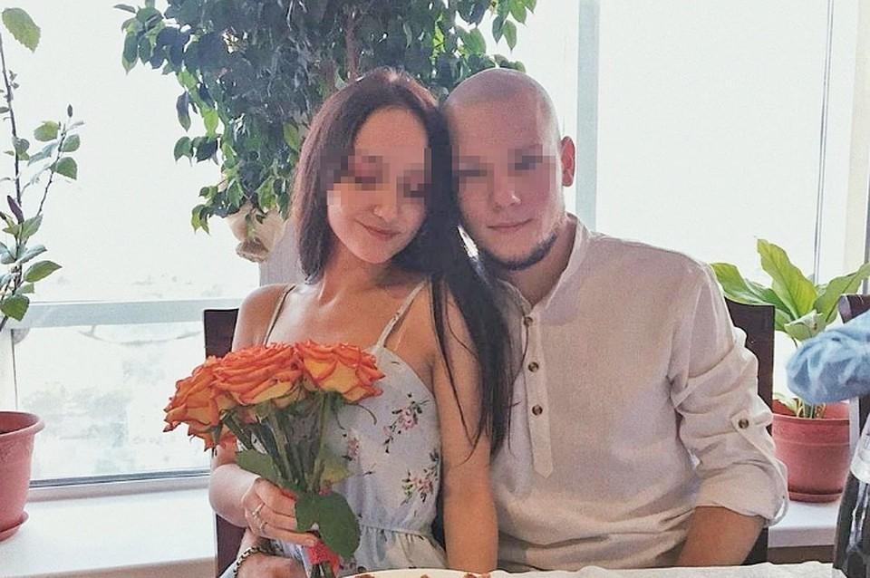 Алексей Голубничный со своей возлюбленной