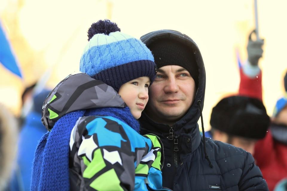 Проект приурочен к Году семьи в Югре. Фото пресс-службы администрации города