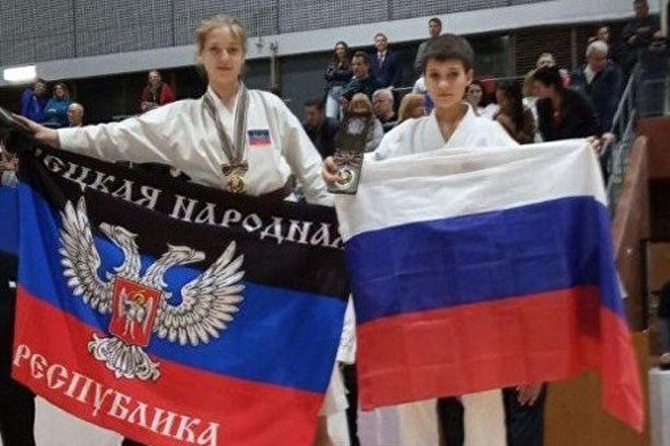 Второе место у России малой, первое место у России большой. Фото: архив донецких спортсменов