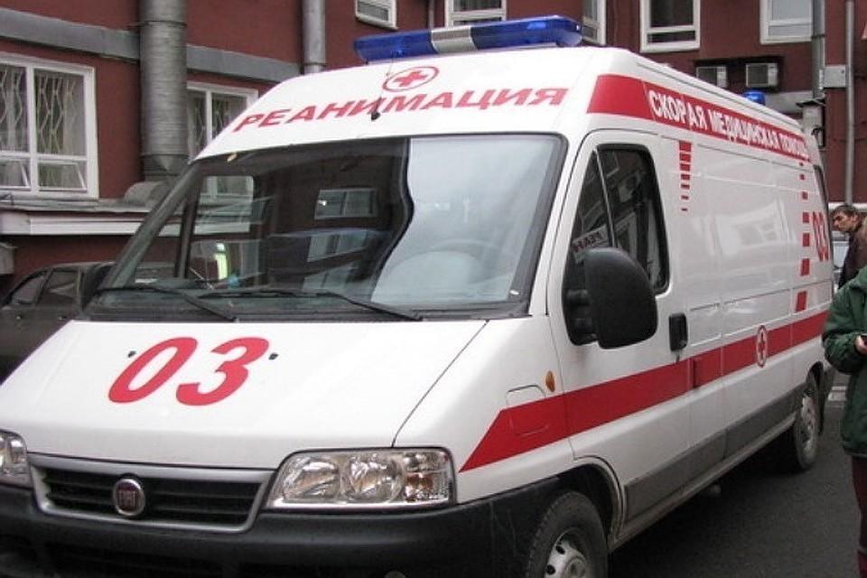 Водитель попал в больницу