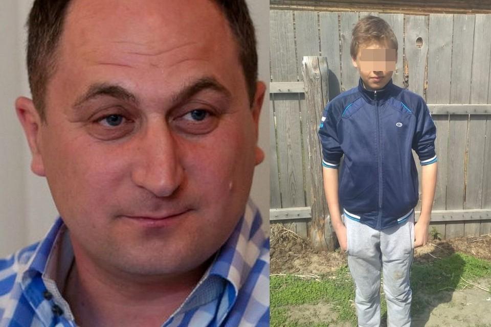 Один из мальчиков заявил, что оговорил директора (на фото слева).