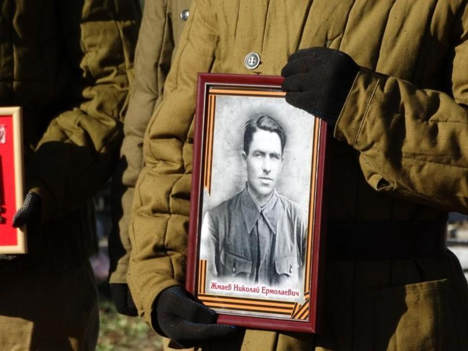 Останки Николая Жмаева захоронили в Усть-Лабинске Фото: администрации Усть-Лабинского района