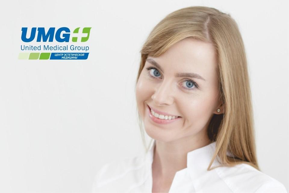 Дарья Якимкова, стоматолог-гигиенист Центра эстетической медицины UMG.
