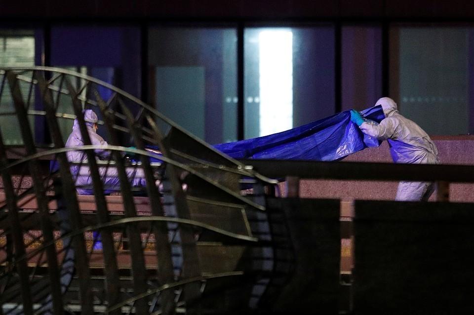 Двое пострадавших погибли в результате теракта в Лондоне