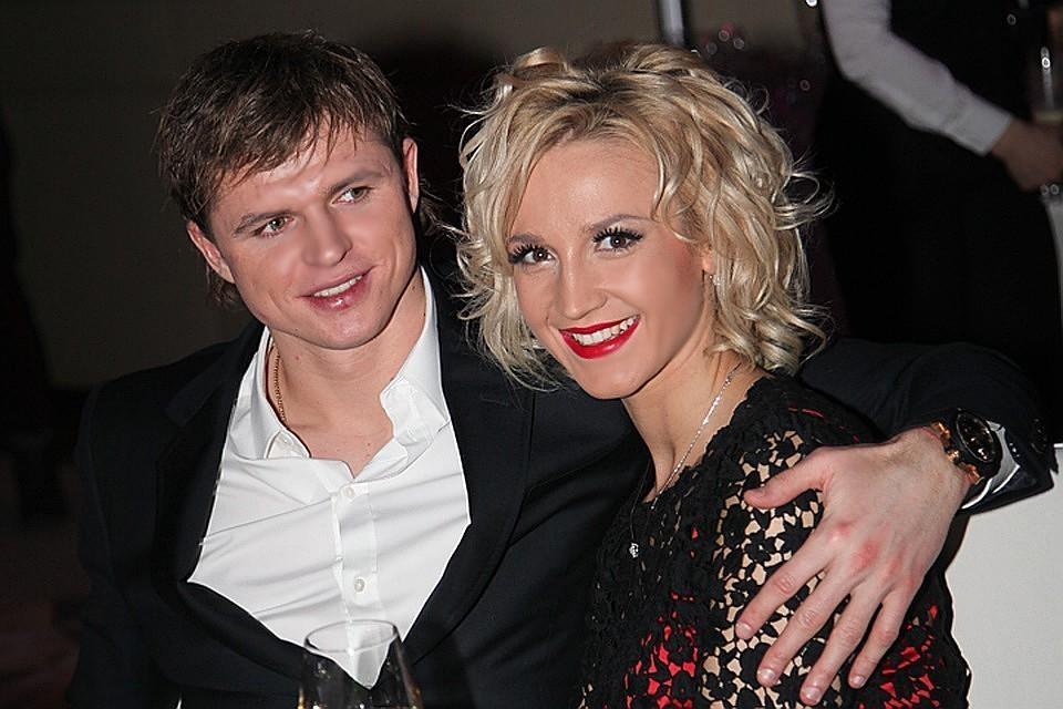 Дмитрий Тарасов и Ольга Бузова в 2014 году.