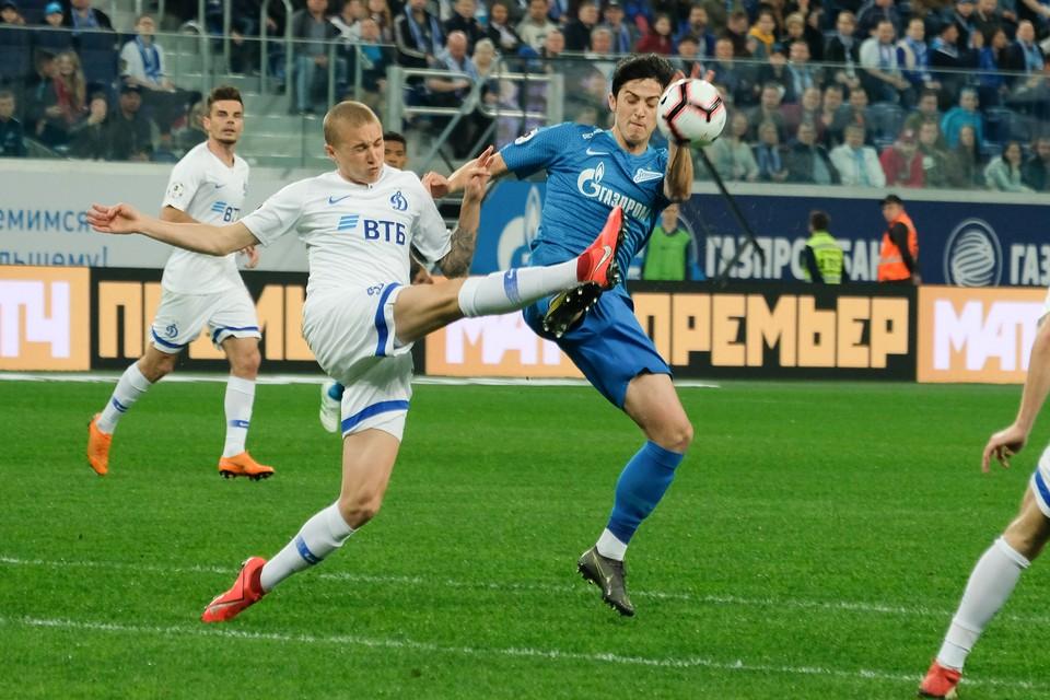 Матч Зенит - Динамо состоится в Петербурге 6 декабря на «Газпром Арене». Прогноз на игру.
