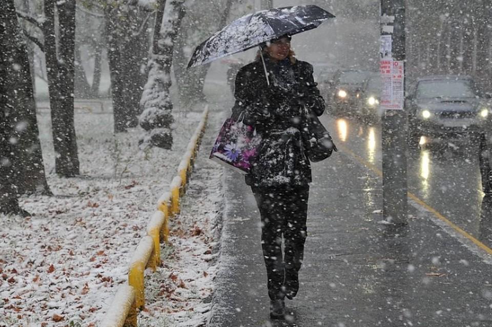 В Краснодаре в ночь на 4 декабря может выпасть первый снег
