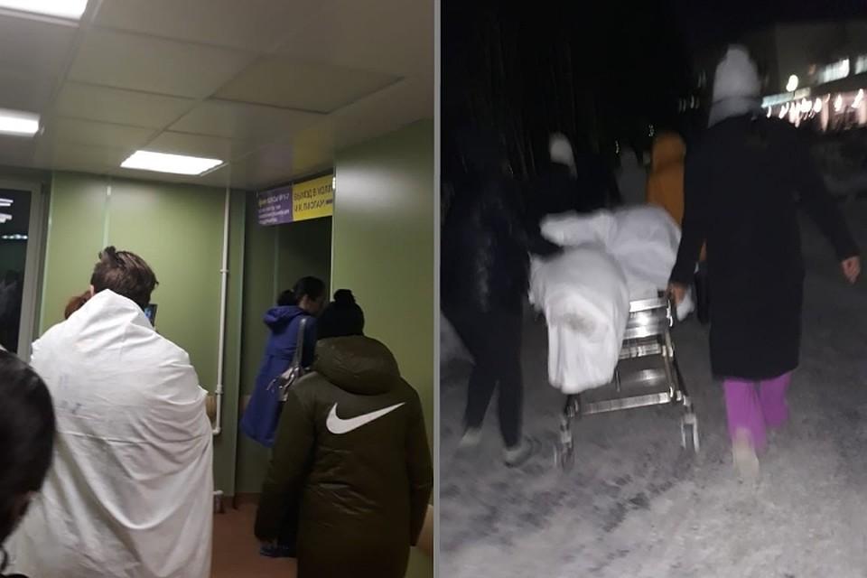 Вечером 3 декабря пациентов Детской городской больницы №1 эвакуировали из-за ложного минирования. Фото: vk.com/spb_today