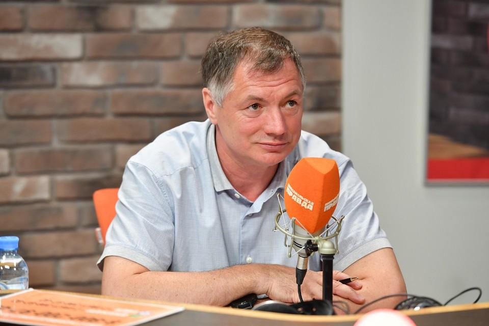 Заместитель мэра Москвы Марат Хуснуллин.
