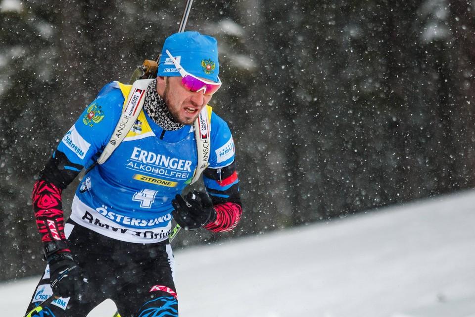 Александр Логинов выйдет на старт индивидуальной гонки в Эстерсунде.