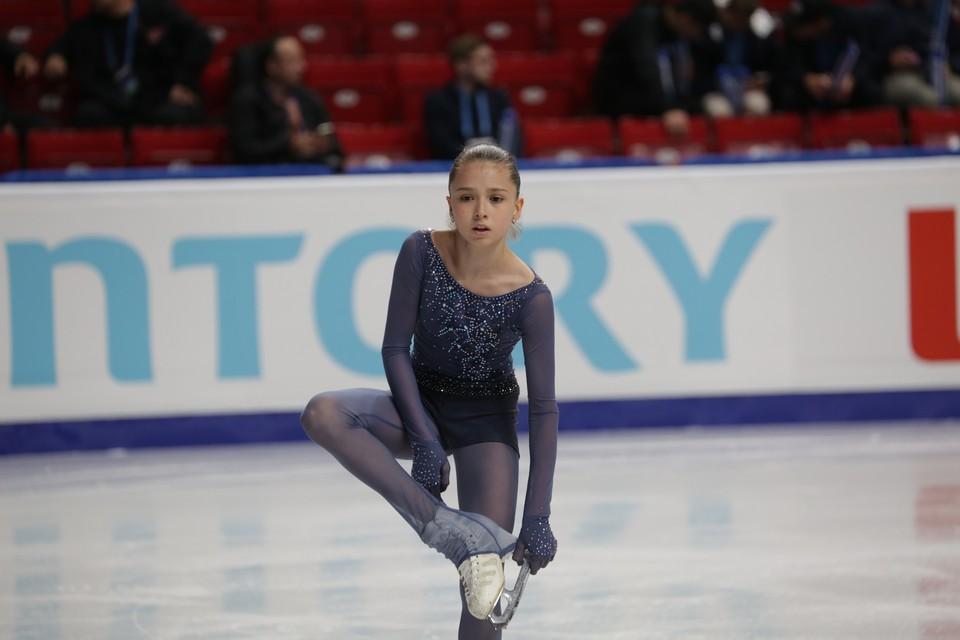 Камила Валиева сразится против Алисы Лью.