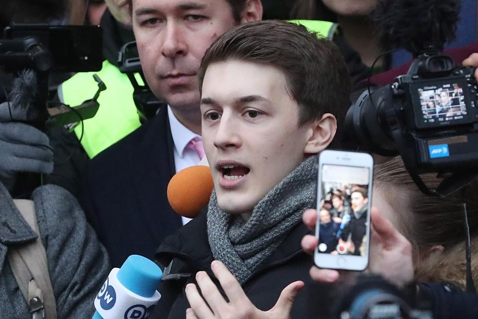 Прокурор требовал приговорить Егора к 4 годам реального лишения свободы. Фото: Сергей Карпухин/ТАСС