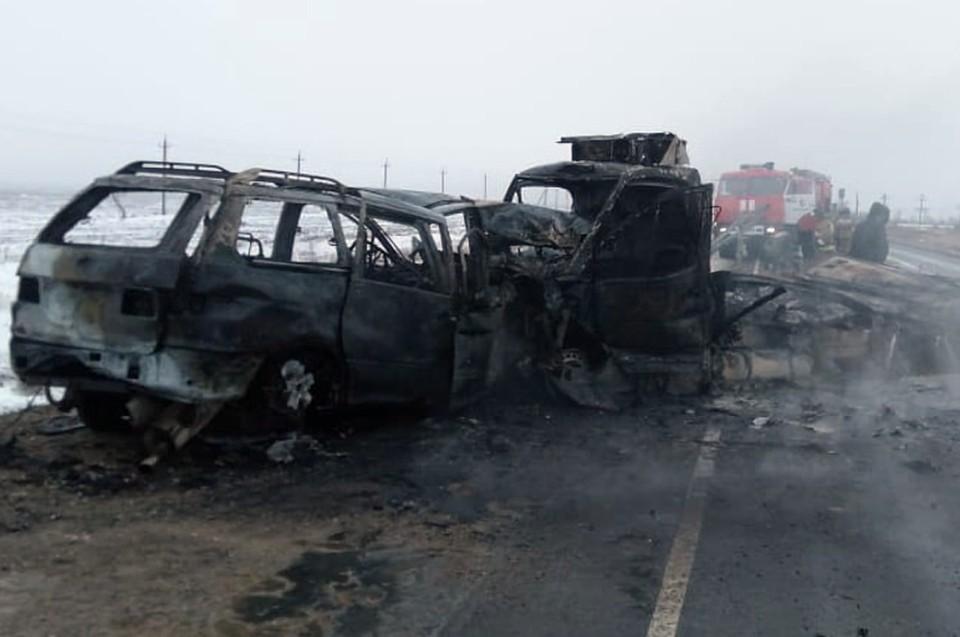 Авария унесла жизни четырех человек (фото УМВД России по Оренбургской области)