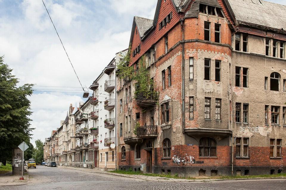 Дом №17 на улице Комсомольской в Черняховске