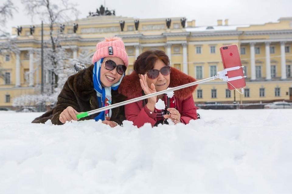 Петербург вошел в топ-3 популярных направлений для зимнего туризма в России.